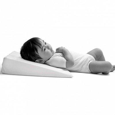Cambrass 34522 - Almohada Confort Cuna Liso E Blanco 55X37 Cm