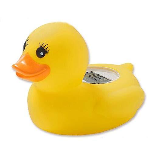 NAttnJf Baby-Badethermometer, Cartoon-Design, Sicherheitssensor für Entenwasser, schwimmendes Spielzeug