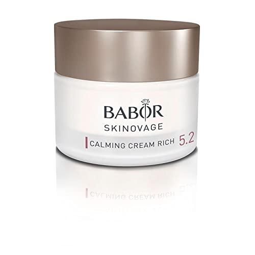 BABOR SKINOVAGE Calming Cream Rich, Ricca crema viso per pelli sensibili, Trattamento idratante senza coloranti o profumi, Vegana, 1 x 50 ml