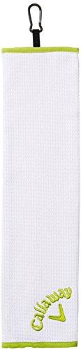 Callaway Tri Fold Towel, Lime, 16'x21'