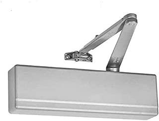 1-4 Size 1-3//4 Door Thickness Arrow Lock DC300 Series Cast Aluminum Non-Hold Open Adjustable Applied Door Closer Pack of 1