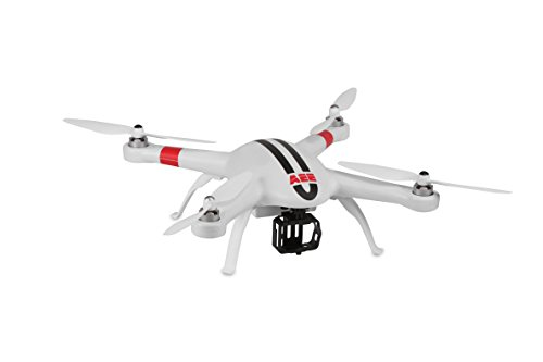 AEE Technology AP9 GPS Drone Quadcopter Aircraft System for AEE S-Series and GoPro Action Cameras (White)