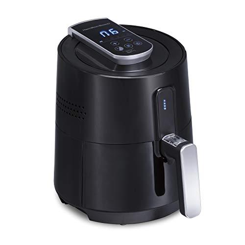 Hamilton Beach 35050 Electric Fryer Easy to Clean Nonstick Basket, 2.6 Quart Digital Air, Black