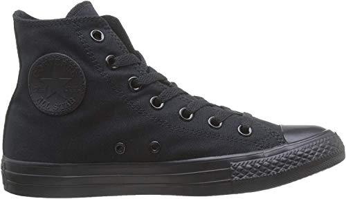 Converse Unisex M3310C C Taylor A/S Hohe Sneaker,Schwarz (Black Mono), 40