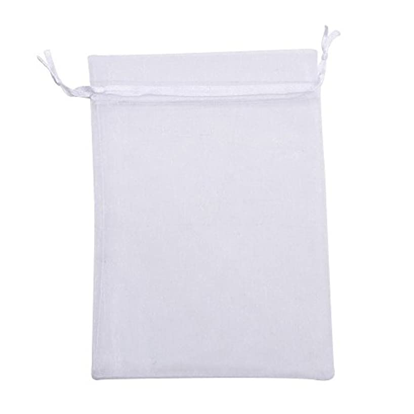 Vie Organza Gift Bags, 12x17cm, Wedding Favor Bags Jewelry Pouches, Set of 100