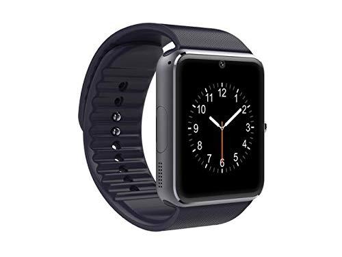 Reloj Inteligente Negro Compatible con Android e iOS