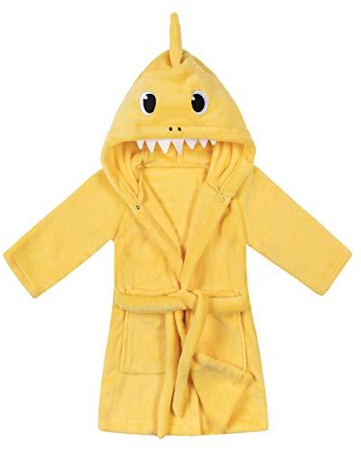 shark bathrobe toddler - 2
