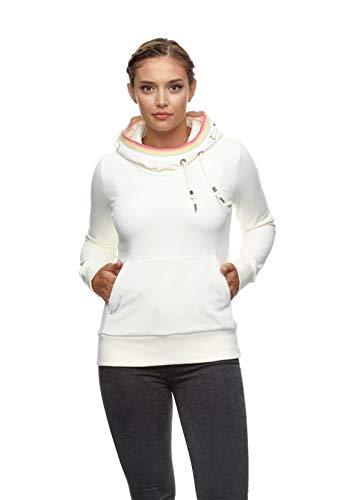 Ragwear Kapuzenpullover Damen ERMELL 2111-30010 Wollweiß 7008 Off White, Größe:M