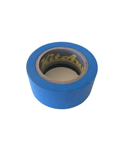 Nastro per mascheratura, colore: blu, 50 mm x 50 m) '