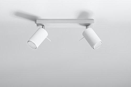 Deckenlampe Etna 2 Weiss NL.0088