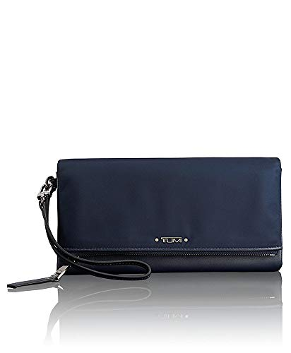Tumi Voyageur SLG Travel Wallet Personalausweishülle, 22 cm, Navy