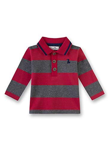 Sanetta Baby-Jungen T-Shirt, Rot (Rosso 3760), 68 (Herstellergröße: 068)