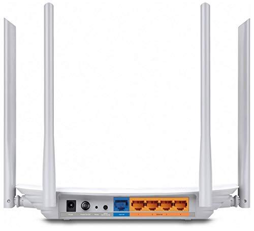 Zyxel AC1200 Dual-Band Wireless Kabel-Gigabit-Gateway-Router & TP-Link Archer C50 Dualband WLAN Router (300 Mbit/s (2,4GHz + 867Mbit/s (5GHz), 1200Mbps, Print/Media/FTP Server) weiß