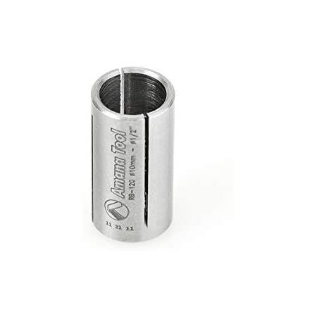 Amana RB-103 High Precision Steel Router Collet Reducer 1//4 Overall D x 3//16
