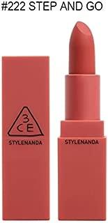 3CE NEW Mood Recipe Matte Lip Color (3 Concept Eyes) Season 2, 218, 219, 220, 221, 222 (222)