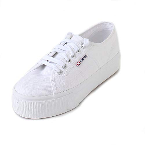 Superga Damen 2790acotw Linea Up and Down Sneaker, Weiß (901 White), 40 EU