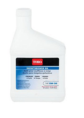 Toro 4-Cycle Winter Engine Oil 5W 30 20oz #38908