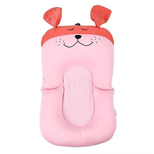 Cojín flotante para bebés, fuerte fluidez segura insípido almohada flotante cómoda, para(Pink, Puppy without hook)