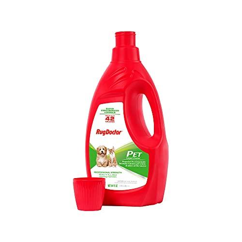 Rug Doctor Pro Carpet Cleaner Pet Formula 64oz, Large, 64 oz, Red