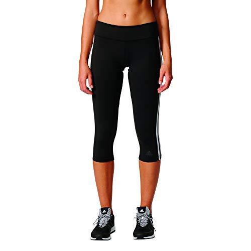 adidas Damen D2M 3-Streifen 3/4 Tights  Black/White  S