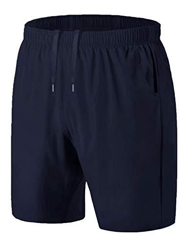 iClosam Pantaloncini Leggeri da Uomo Casual Allacciare Uomini Pantalone Corti Fitness Shorts Jogging