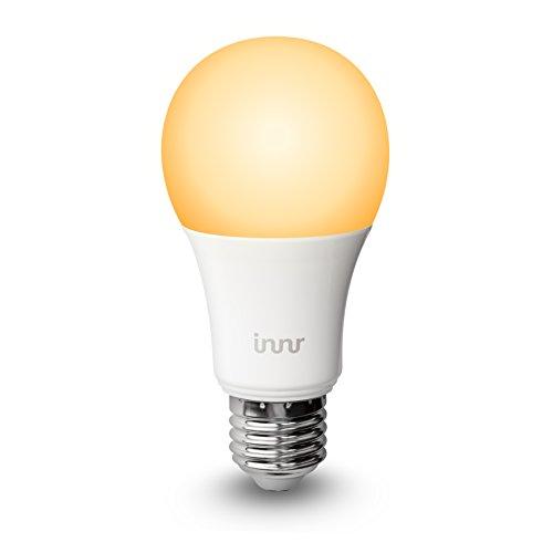 Innr E27 ampoule LED connectée Blanc réglable, 2200K - 5000K (pilotable via smartphone, iOS / Android, compatible avec Hue*) RB 178 T