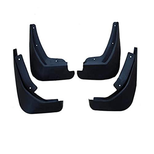 NADAENDR 4 guardabarros de coche para Ford Fiesta Mk7 2009-2017 delantero trasero duradero, kit de protectores de salpicaduras, fácil ajuste, protección para el cuerpo