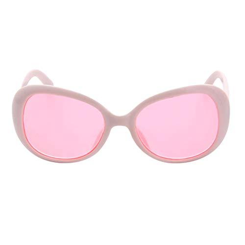FLAMEER 1 Paar Modische Brillen Gläser Sonnenbrillen Für 18 Zoll Puppen Kleidung Zubehör - Weiß, A