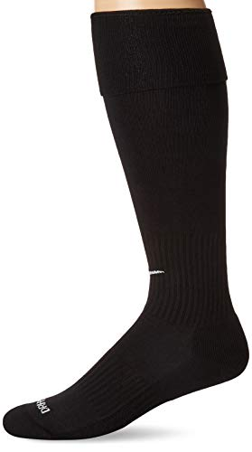 Nike Academy Over-The-Calf Soccer Socks, Black/White, Large