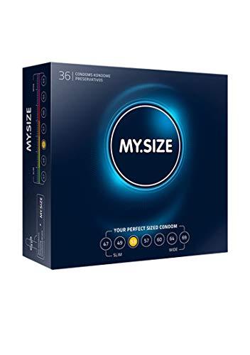 My.Size Kondome Größe 3, 53 mm, Großpackung, Inhalt 36 Stück