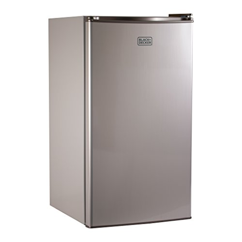 BLACK+DECKER BCRK32V Compact Refrigerator Energy Star Single Door Mini Fridge with Freezer, 3.2 Cubic Ft., VCM