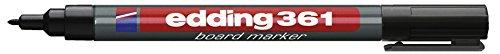 edding Whiteboardmarker edding 361, nachfüllbar, 1 mm, schwarz