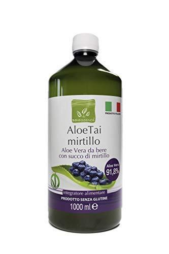 Benessence - ALOE TAI ARÁNDANO: Zumo de Aloe Vera con Arándano 1000 ml
