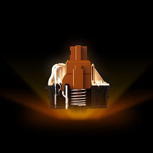 SteelSeries Apex 7 - Clavier de gaming mécanique - Écran OLED Smart Display - Switchs marron - Agencement Français AZERTY