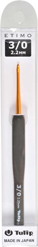 かぎ針 ETIMO (エティモ) クッショングリップ付きかぎ針 3/0号 Tulip チューリップ