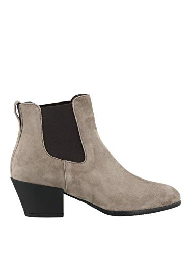 Hogan Luxury Fashion Damen HXW4010W890CR0C407 Braun Wildleder Stiefeletten | Jahreszeit Outlet