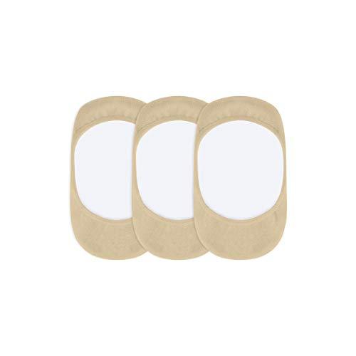 POMPEA NO STRESS Bomba sin estrés, 6 pares, salvavidas unisex de algodón para hombre y mujer, cómodas, invisibles, prácticas. Ideal para zapatillas y zapatillas deportivas. Nudo 39/42 EU