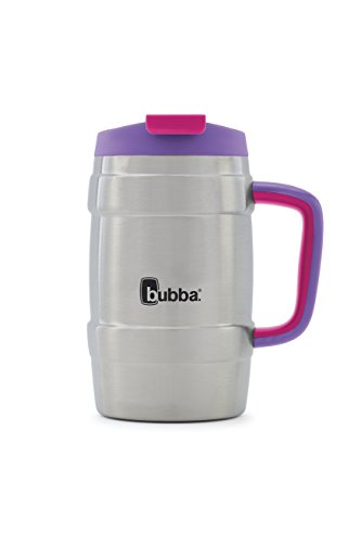 Bubba Keg Vacuum-Insulated Stainless Steel Travel Mug, 34 oz, Juicy Grape