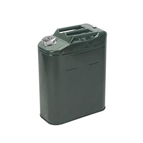 Brandstoftank Benzine Diesel Oil Drum Metaal Draagbare Benzineblikken Car SUV Motorfiets Driewieler Accessoires (Size : 10L)