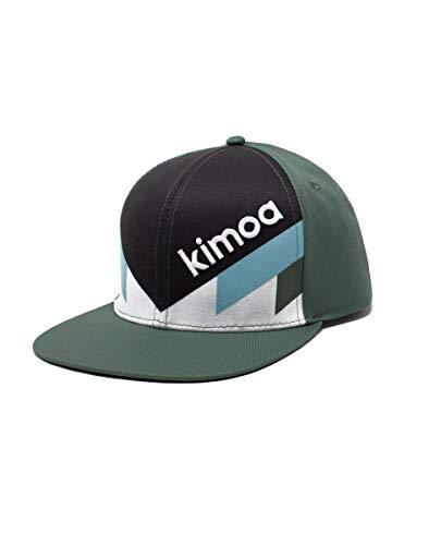 Kimoa Picton Gorra Plana, Unisex, Verde, Estandar