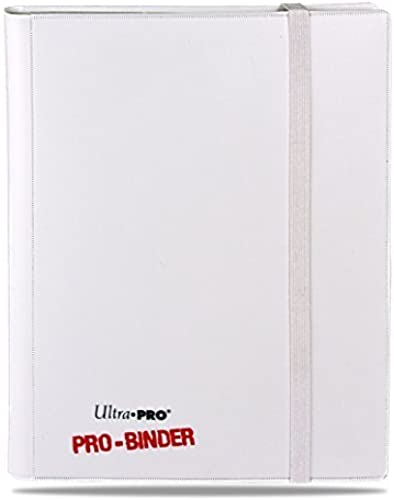 Ultra Pro PRO-BINDER All C6 Card Game (blanco) by Ultra Pro
