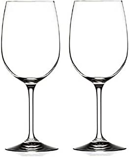 RCR Cristalleria Italiana Aliseo Collection 2 Piece Crystal Wine Glass Set (Wine (20 oz))