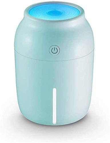 lndytq Color Cup USB Jane Humidificador Hogar Silencio Dormitorio Mujer Embarazada Bebé Coche pequeño Aerosol Simple (Color: A)