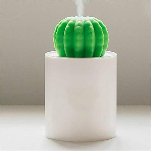 dongzhifeng USB Luftbefeuchter Kaktus Timing Aromatherapie Diffusor Nebelhersteller Fogger Mini Aroma Diffusor Mit Nachtlicht Für Zuhause