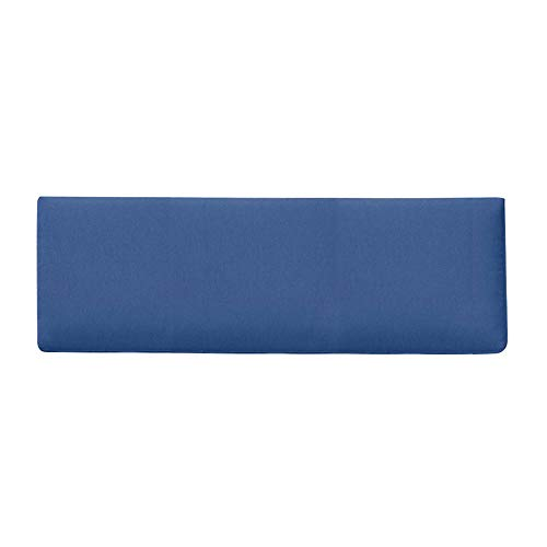 GGYDD Outdoor Thicken Bench Cushion,Solid Color Sponge Seat Cushion,Patio Rectangle Stool Mats Chair Cushion,Not-slip Rocking Chair Pad