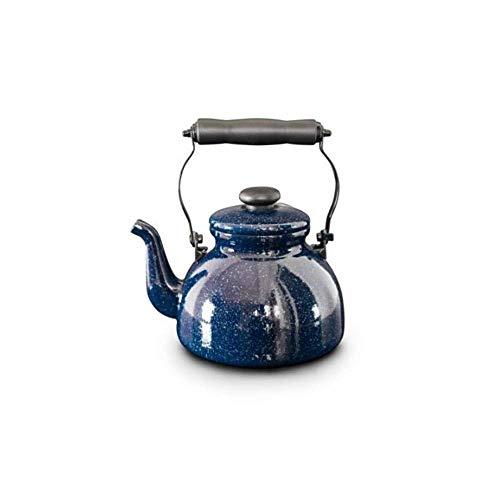 KSW_KKW Bouilloire à sifflet 2L, théière, Pot, cocotte en Self contrôle, cuisinière à Induction, cuisinière à gaz, théière, marmite, cuisinière à Induction, cuisinière à gaz, Peut être utilisée