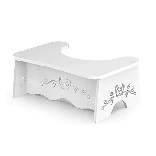 Fanwer トイレ踏み台 洋式トイレ足置き台 子供トイレトレーニング 組み立て式ステップ 便座補助台 便秘解消