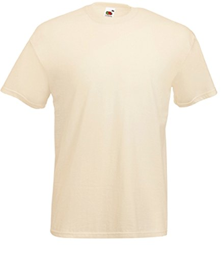 Fruit of the Loom Valueweight T-Shirt Natur XXL