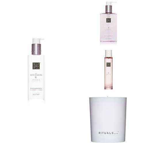 RITUALS The Ritual of Sakura Kitchen Hand Balm + The Ritual of Sakura Hand Wash + The Ritual of Sakura Hair & Body Mist + The Ritual of Sakura Scented Candle