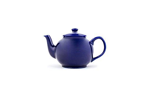 Fox Run Brands Earthenware Teapot, 6 Cup, Blue